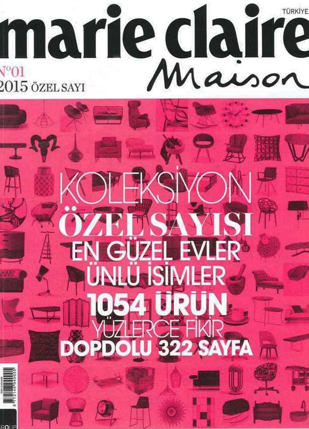 MARIE CLAIRE MAISON 2015 ÖZEL SAYI