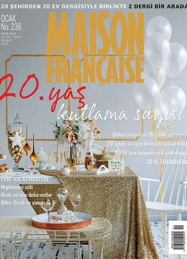 MAISON FRANÇAISE JANUARY 2015-20.ANNIVERSARY EDITION